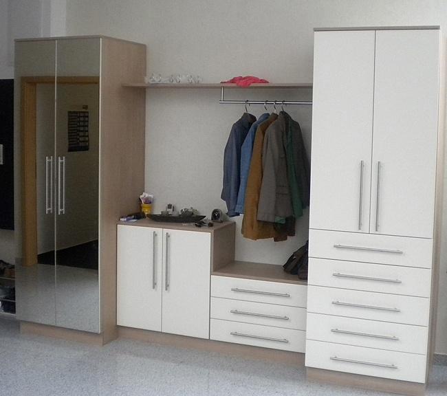 Schreinerei hock garderoben for Garderobe individuell